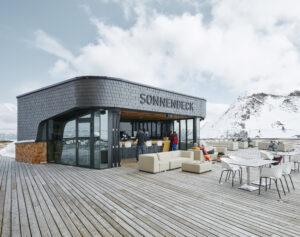 Sonnendecks Restaurant Fügen Spieljochbahn